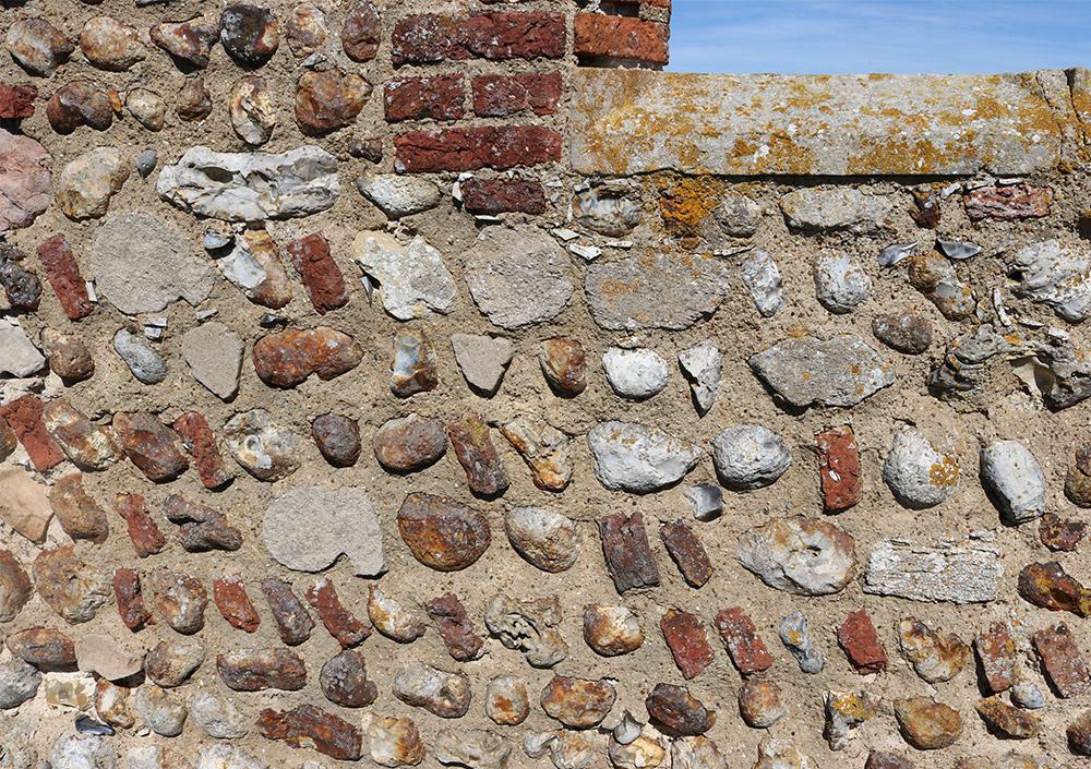 Godwick Church wall