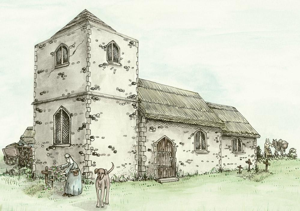 Godwick Church recontruction